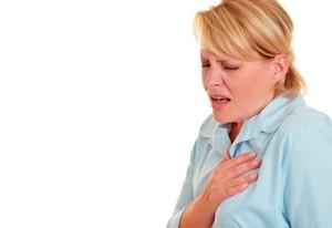 Боли в сердце при вдохе