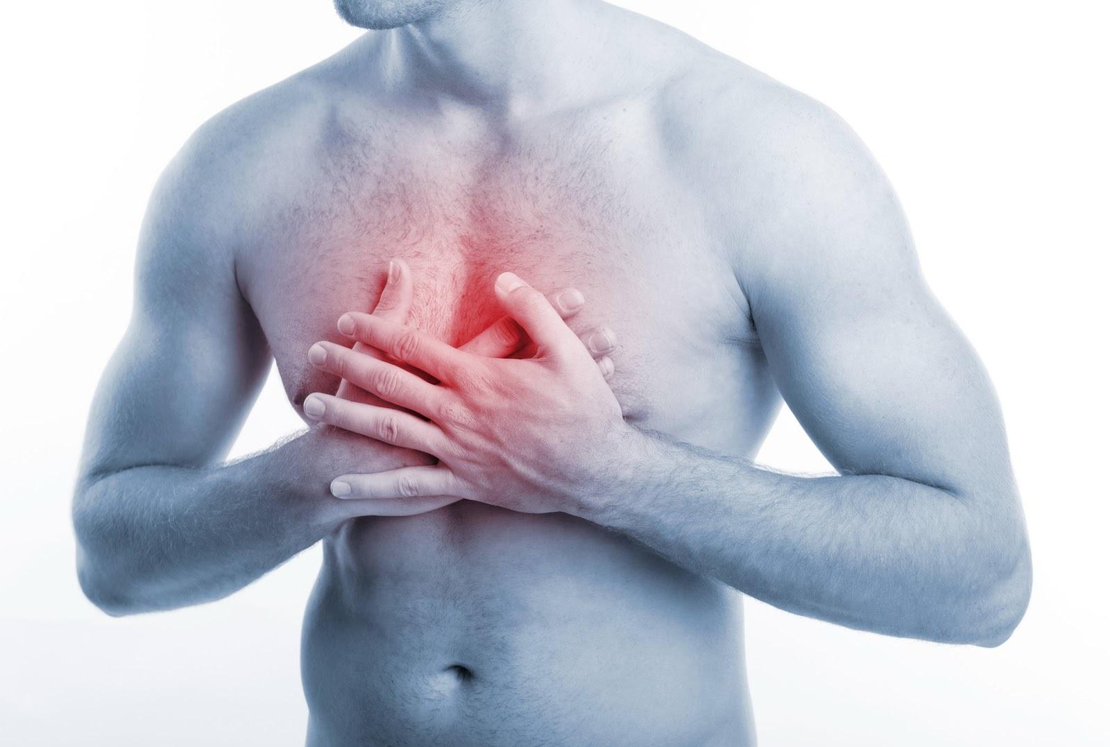 Боль в груди на холоде