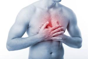 Боли в верхней части грудной клетки
